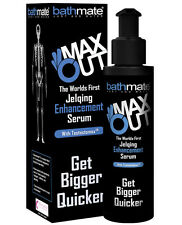 BATHMATE HYDROMAX MAX OUT JELQ JELQING SERUM ENHANCEMENT LOTION 120ml FREE LUBE