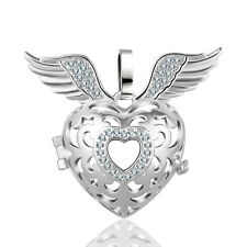 Silver Wings Mexican Bola Harmony Ball Angel Caller Locket Cage Engelsrufer