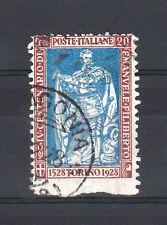 REGNO - 1928 - 20 cent Filiberto NON DENTELLATO IN BASSO (226k) - U