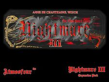 Nightmare III Video Board Game Video Tape VCR VHS DVD Anne de Chantraine