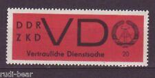 DDR Dienst ZKD Nr.   VD 3 x **   vertrauliche Dienstsache
