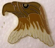 Hat Lapel Pin Scarf Clasp Bird Eagle Head cutout NEW