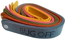 BUG OFF Mosquito Repellent Bracelet Family 10-Pack - *Deterrent SAFE for Babies*
