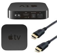 1,8M HDMI A HDMI 24K DORATO ELETTROLITICAMENTE V1.4 CAVO CAVETTO PER APPLE TV