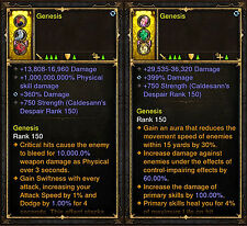 Diablo 3 RoS PS4 [HARDCORE] - Immortal Ring [Never Die Again] - All Classes!