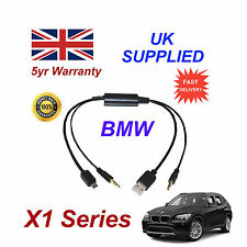 BMW X1 Series Audio Cable For Samsung Galaxy, HTC, Blackberry, LG, Nokia Sony