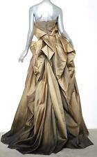BOTTEGA VENETA $11K RED CARPET Gold Ombre Long Strapless Gown EVENT 40/4 S NEW