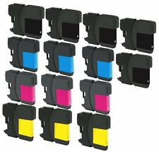 14 NON-OEM INK BROTHER LC-61 MFC-490CW MFC495CW MFC-5490CN MFC-5890CN MFC-5895CW