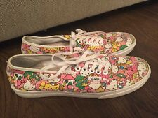 Vans Hello Kitty Bubble Gum Pink Womens Tennis Shoes Sz 7 Lo Profile Sneakers