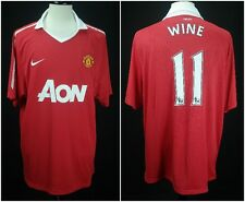 Nike Dri-Fit 2010/11 Manchester United #11 WINE/RYAN GIGGS Soccer Jersey XXL NWT