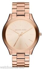 Michael Kors Women's MK3197 Runway Analog Display Analog Quartz Rose Gold Watch