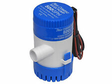 MARINE ELECTRIC BILGE PUMP 12V 500GPH FOR BOAT, CARAVAN, RV – FIVE OCEANS