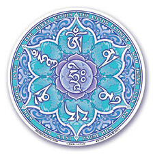 Mandala Arts Window Sticker: Jewel Lotus - Om Mani Padme Hum