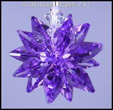 m/w Swarovski Crystal Blue Violet Purple Star Sun Catcher Lilli Heart Designs