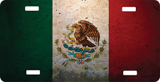 Personalized Custom License Plate Auto Car Tag Mexico Flag