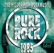 THE HISTORY OF ROCKMUSIC - PURE ROCK 1985 / CD - TOP-ZUSTAND