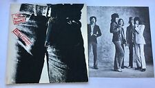 LP ROLLING STONES STICKY FINGERS 1971 COC 59100. A3 B4  COVER VGPLUS