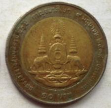 Thailand 10 Baht coin 1996