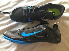 NIKE 8 Black Blue Running Shoes For Women Size 8 New!