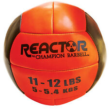 Reactor by Champion Barbell™ Medicine Ball 11-12lb - Orange