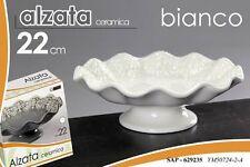 VASO ALZATA IN CERAMICA BIANCO  22 CM SAP-629235