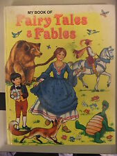 Book Childrens FAIRY TALES AND FABLES @1970'S SOME MARKS  26x20cm