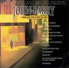 John Barry: Moviola (CD, Epic) Out of Africa, Midnight Cowboy, Born Free