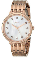 Relic (by Fossil) Women's ZR34288 'Perla' Mother of Pearl Rose Gold Watch