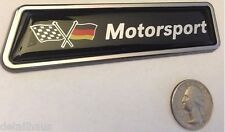 GERMAN MOTORSPORT EURO RACING BADGE FOR VW AUDI BMW MERCEDES PORSCHE - FREE SHIP