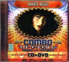 AMANDA MIGUEL Colleccion De Exitos CD + DVD New Original Grandes 16 Coleccion