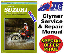 CLYMER WORKSHOP REPAIR MANUAL SUZUKI K10P 1968 SUZUKI 50-125 SINGLES M367