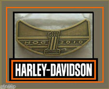 Harley Davidson 2010 HOG Harley Owners Group Jacket Hat Pin Badge Free Post UK