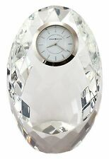 "645-732 ""RHAPSODY"" A CRYSTAL  HOWARD MILLER TABLE/ MANTLE CLOCK"