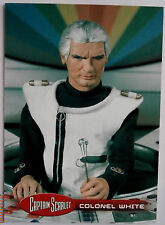 Captain scarlet-individuelle trading card #39, le colonel white-imparable cartes