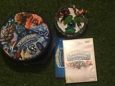 SKYLANDERS SPYRO'S ADVENTURE Wii GAME +WIRELESS PWR PORTAL +3 FIGURE +BAG BUNDLE