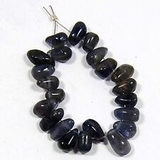 31.30 CT 100% NATURAL IOLITE DRILLED BEADS 22 PC S-5 to 8MM ON GEMS_STONES_INDIA