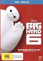 BIG HERO 6-Region 4-New AND Sealed
