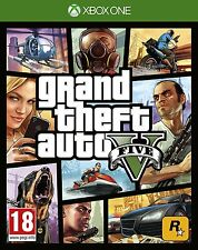 GTAND THEFT AUTO 5 V GTA XBOX ONE Game (BRAND NEW SEALED)