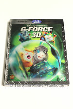 Disney G-Force G Force Guinea Pig Pet Pets Hero Animated Movie Blu-ray 2D 3D DVD