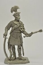 Toy lead soldier, Polish hussar captain,rare,detailed,collectable,gift idea
