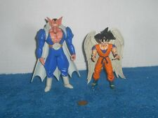 DBZ Irwin Toys Bandai Dragon Ball Z Goku NO Halo Angel Wings & Daburah 2002