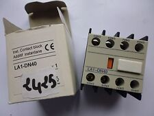 LA1-DN40 TELEMECANIQUE contacts auxiliaires auxiliary switche LC1D 4 x NO