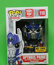 FUNKO POP MOVIES TRANSFORMERS #110 OPTIMUS PRIME WITH SWORD~HOT TOPIC~VINYL !!!