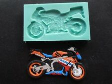 Silicone Mould MOTORCYCLE Sugarcraft Cake Decorating Fondant / fimo mold