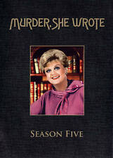 Murder She Wrote - The Complete Fifth Season (DVD, 2014, 5-Disc Set)