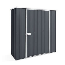 YardSaver F52 1.76m x 0.72m Single Door Colour Garden Shed - EASTER SPECIAL