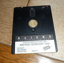 CPC Amstrad Spiel Diskette Disk Aliens The Computer Game