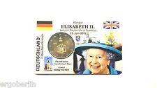 2 Euro Sondermünze Deutschland 2015 Elisabeth Paulsk. Premium Coincard/Münzkarte