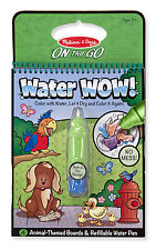 Just Arrive! Melissa & Doug Water WOW! No Mess - Activity Book -Animal # 5376