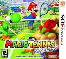 NINTENDO 3DS DS GAME MARIO TENNIS OPEN BRAND NEW & FACTORY SEALED